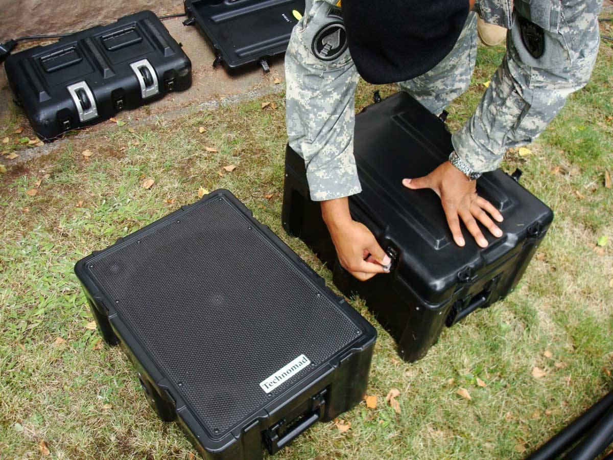 Technomad Turn Key Military Pa Systems