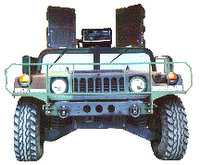 hummer-mounted technomad military PA system