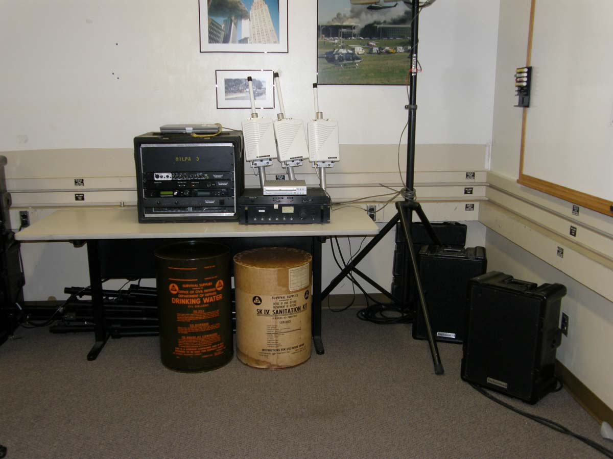 Technomad Turnkey PA Systems are used inside the classroom for the initial training procedures